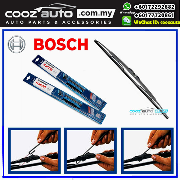 MITSUBISHI LANCER EVO X EVO 10 2007-2016 Bosch Advantage Windshield Wiper Blad