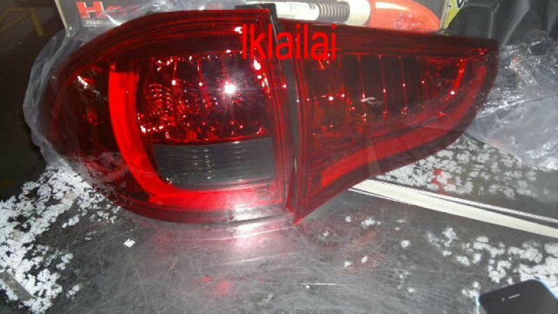 MITSUBISHI PAJERO SPORT 09-12' LED TAIL LAMP [Red-Smoke]