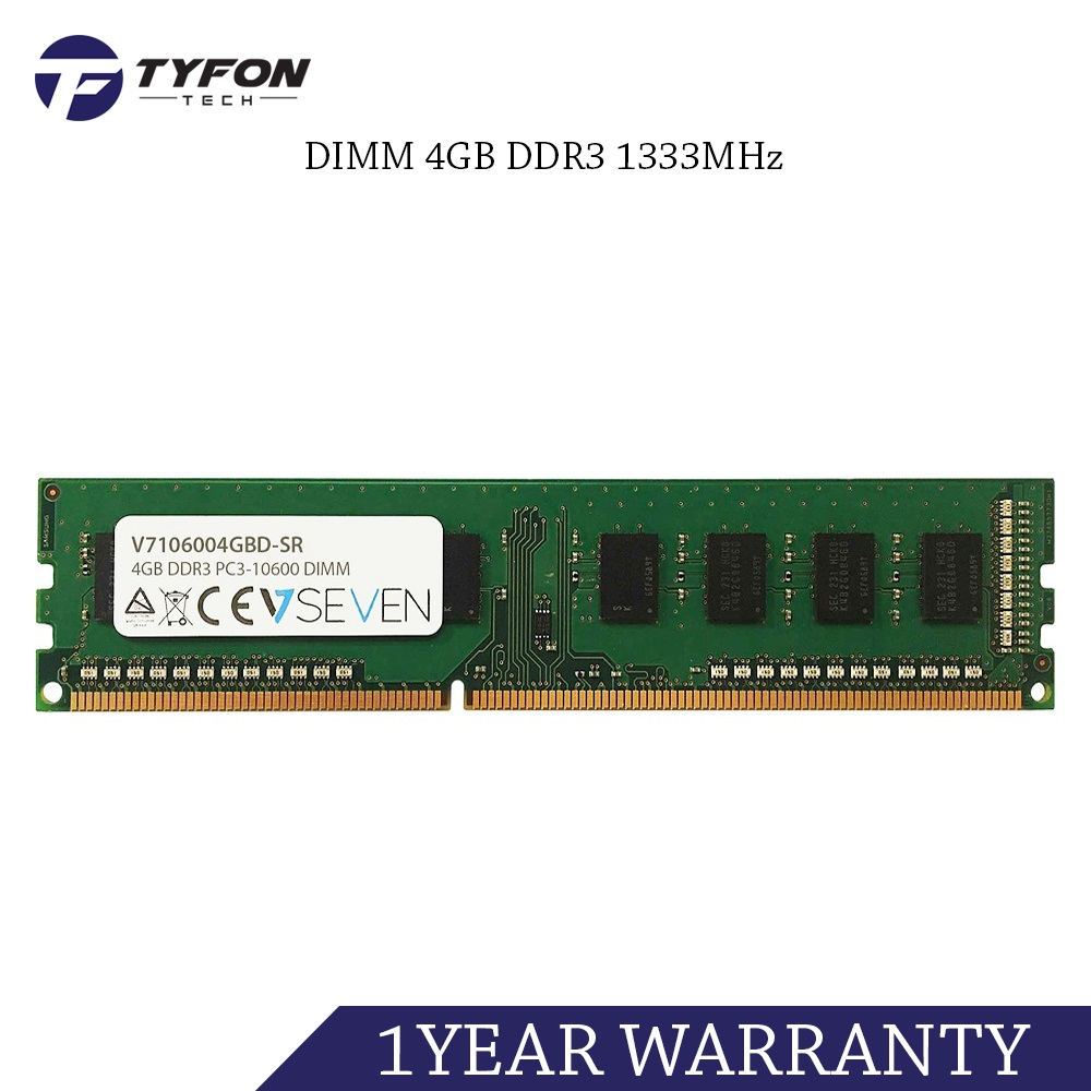 Mix Branded DIMM 4GB DDR3 1333MHz PC3-10600 Desktop PC RAM