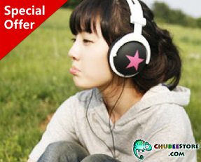 Mix-style stereo earphone headphone headset-big star
