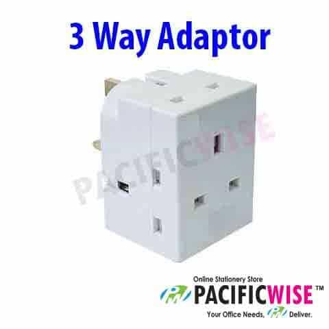 MK Brand 3 Way Adaptor