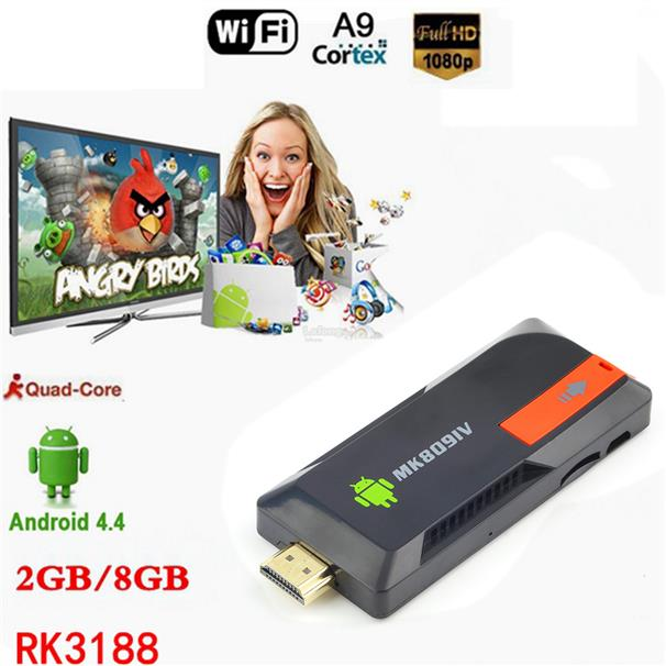 MK809IV Mini PC Smart TV Box Stick Android 5.1 Quad Core 2G/8G DLNA Wi