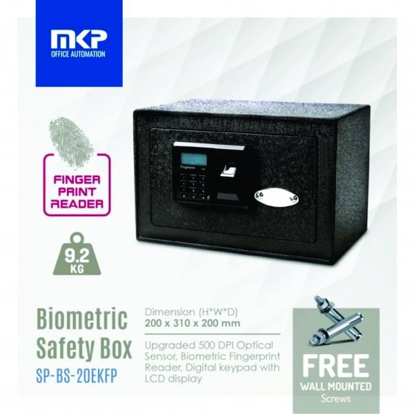 MKP SP-BS-20EKFP FINGERPRINT BIOMETRIC SAFEBOX