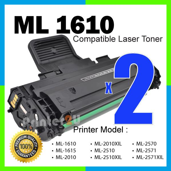 ML-1610 Compatible ML1615/ML2010/ML2010XIL/ML2510/ML2571/SCX4251 Black
