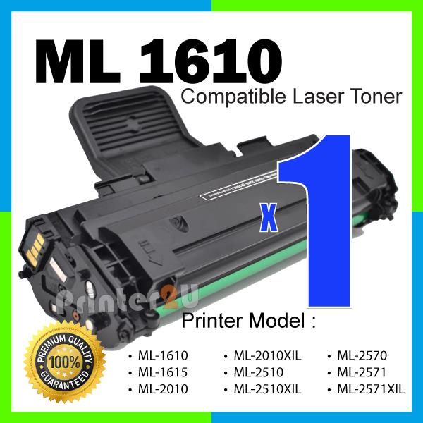 ML-1610 Compatible ML1615 ML2010 ML2010XIL ML2510 ML2571 SCX4251 Black