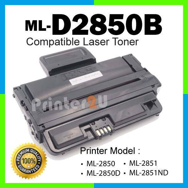 ML2850 Compatible ML-D2850B 2850 2850D 2851 2851ND ML2850D ML2851ND BK