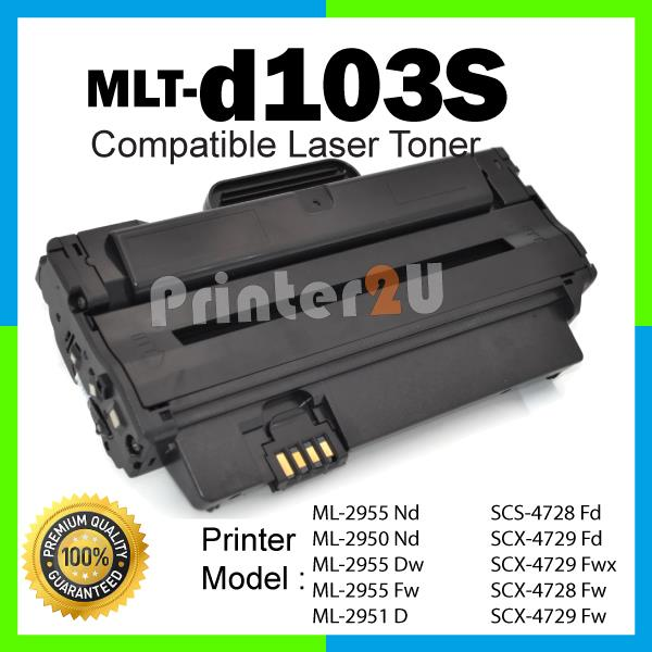 MLT-D103S/103S/MLTd103s ML2295ND/ML2295DW/SCX4729FD/SCX4729FW Printer