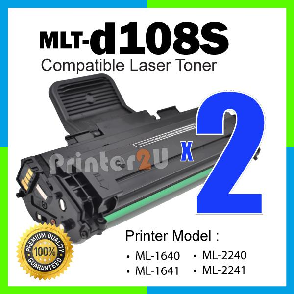 MLT-D108S/MLTD108S 108 ML1640/ML1641/ML2240/ML2241 Laser Printer Toner