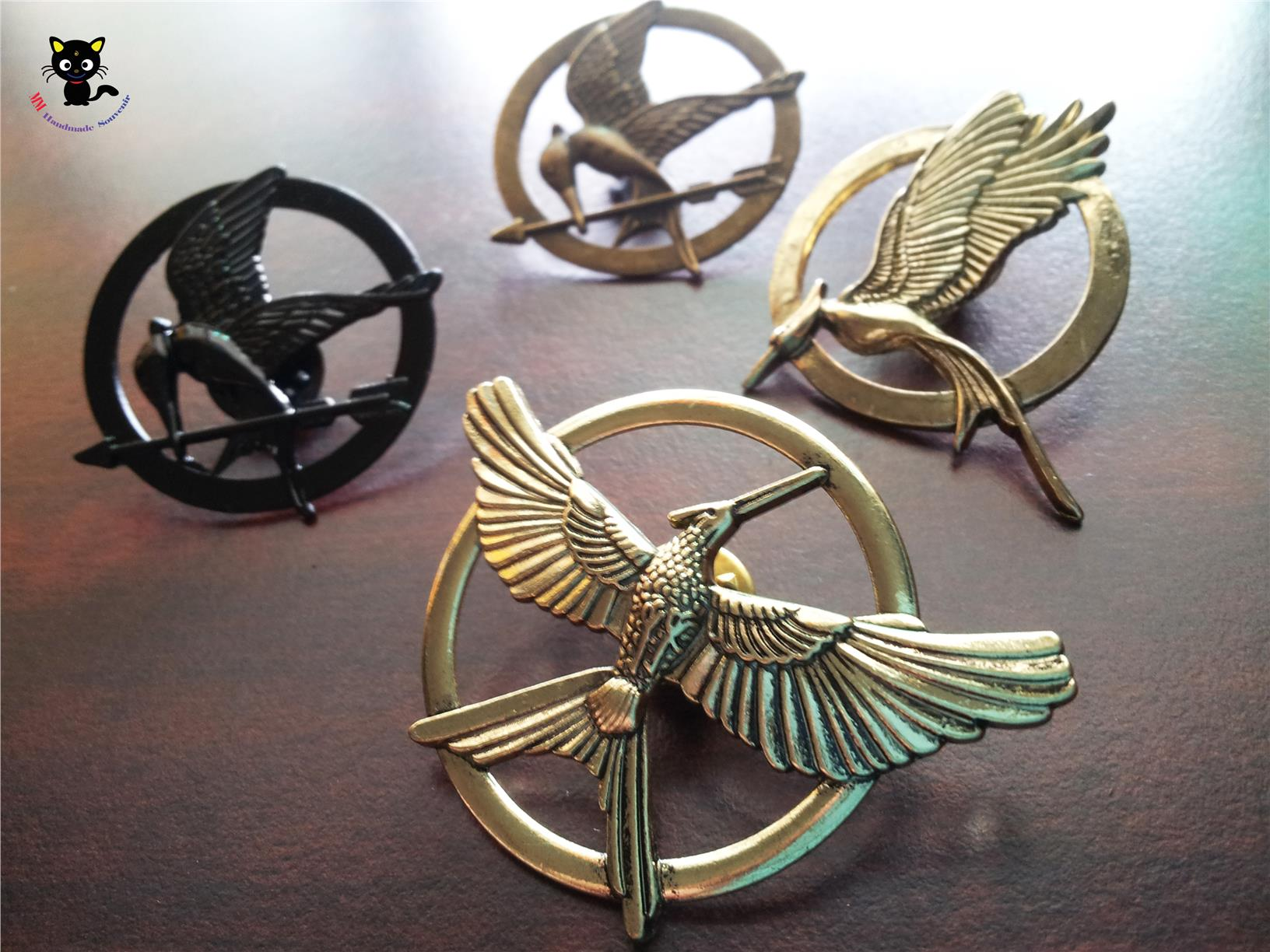 Hunger games mockingjay pin earrings earrings mm hunger games catching fire moc end 1 7 2018 15 pm buycottarizona Gallery