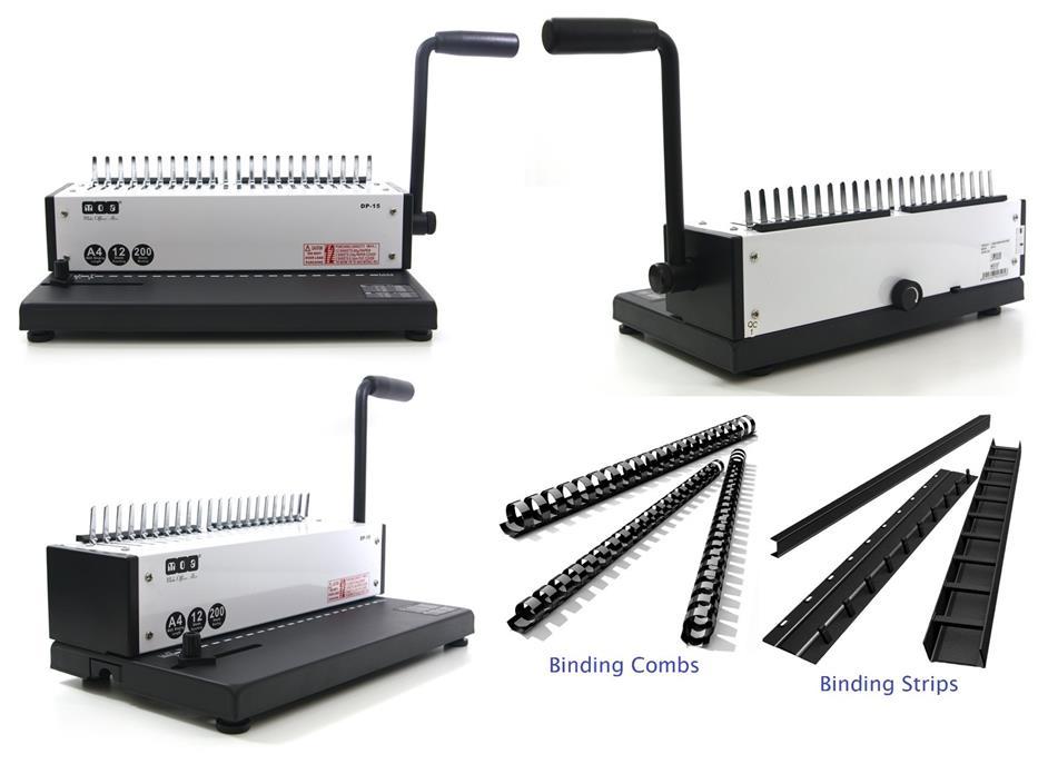 MOA Comb Binding Machine Ring Strips Binder