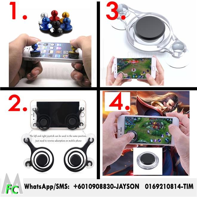 Mobile Joysticks Smartphone Mini Zero Any Touch Screen Joystick