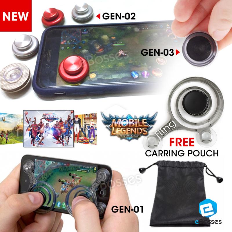 ... Gamepad Fling Mini Gaming Mobile Legend. Mobile Mini Joystick Physical Game Rocker Game Stick Controller For iPhone iPa
