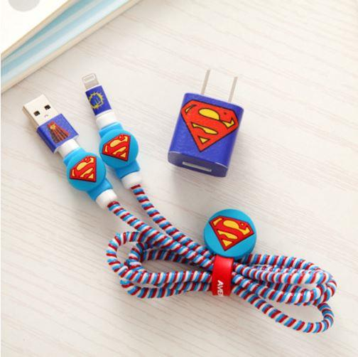 Mobile Phone Data Cable Charging Head Data Protection Rope Spring Rope