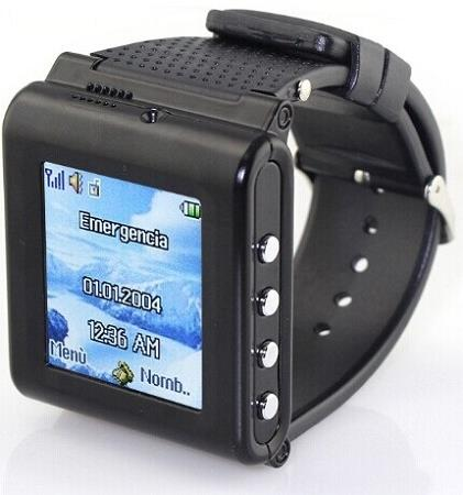 Mobile Phone Watch With Hidden Video Recorder (WP-AK912).