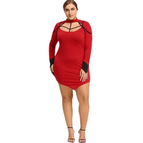 5478e0c9e2d MOCK NECK PLUS SIZE ASYMMETRIC STRA (end 6 25 2021 12 00 AM)