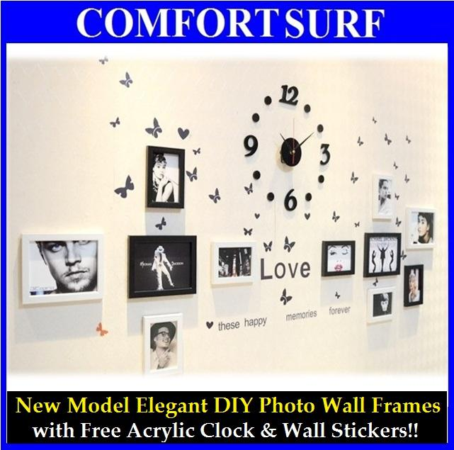 New Model 11 Pcs Photo Wall Frame co (end 1/8/2020 10:12 AM)