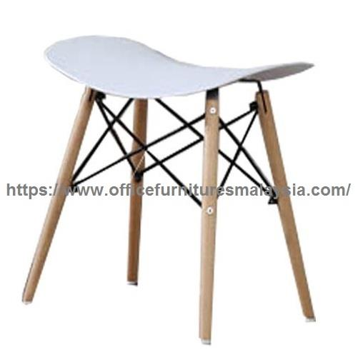 Modern Backless Counter Stool YGBS56013B/W cheras puchong setia alam