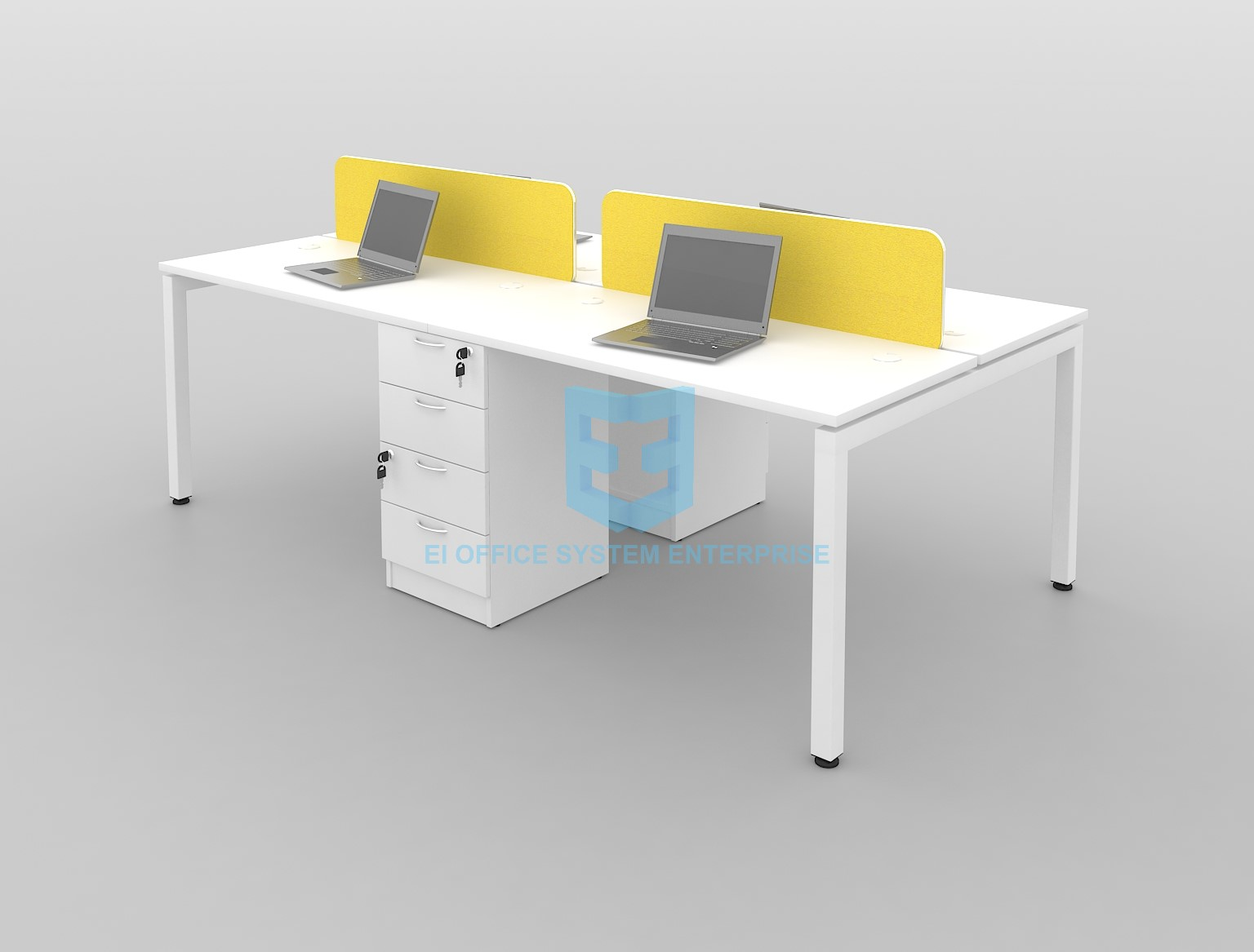 Modern Desking System / Workstation / Office Table / Office Desk 24