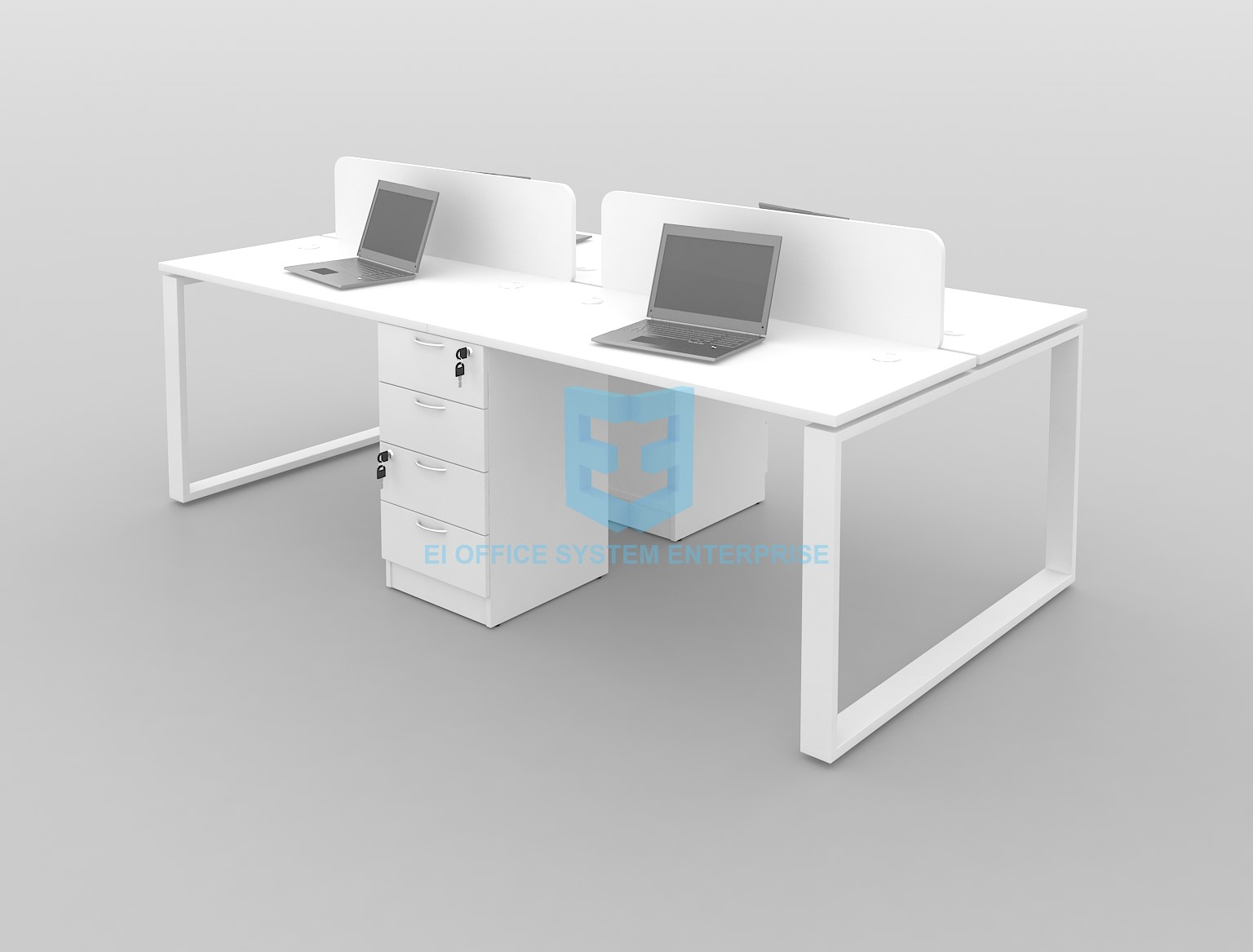 Modern Desking System / Workstation / Office Table / Office Desk 27