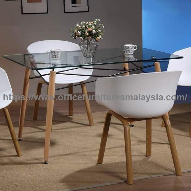 Modern Dining Table With Glass Top Yg End 352020 215 Pm