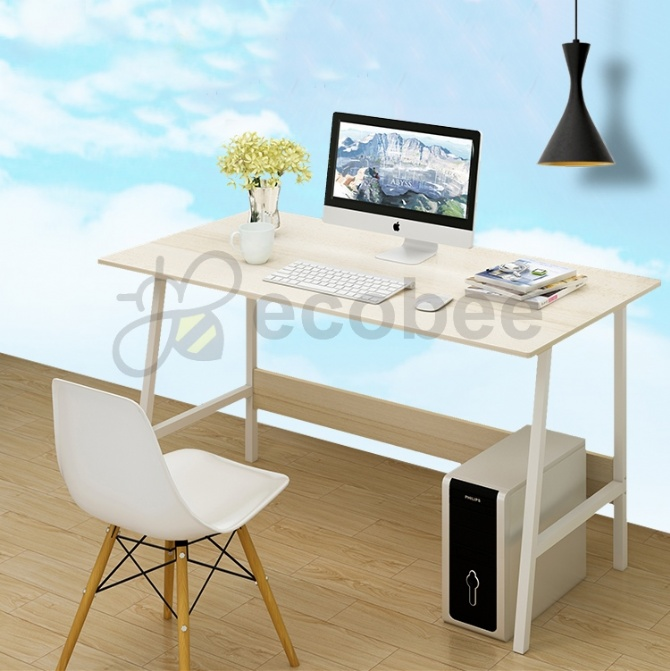 reputable site 710f2 9808b Modern Home Office Ikea Style Desk Table Ladder Leg Design 4ft