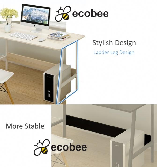 Modern Home Office Ikea Style Desk Table Ladder Leg Design 4ft
