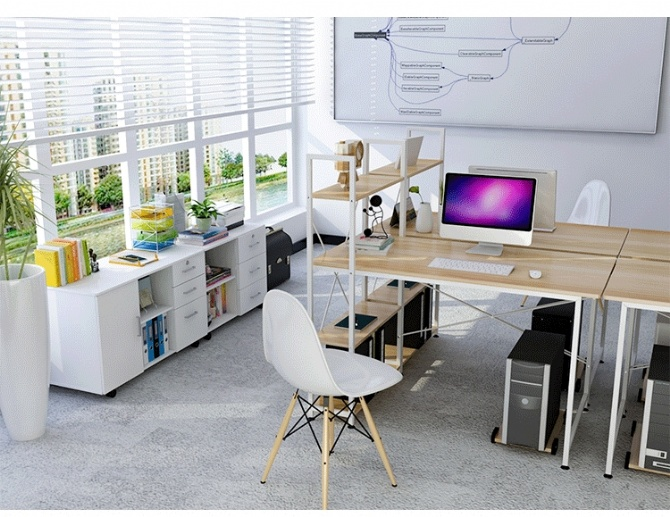 desk for home office ikea. Modern Home Office Ikea Style Desk Table With Shelf Keyboard Tray (Map For