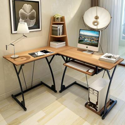 New Modern Multi Functional L Shape Office Computer Desk Study Table