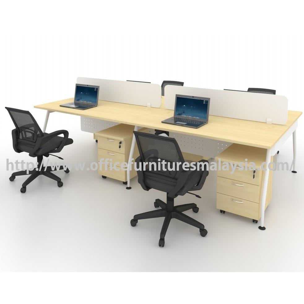 modern office partition. Modern Office Partition Team Workstation Table Set OFMQA1270 Selangor F
