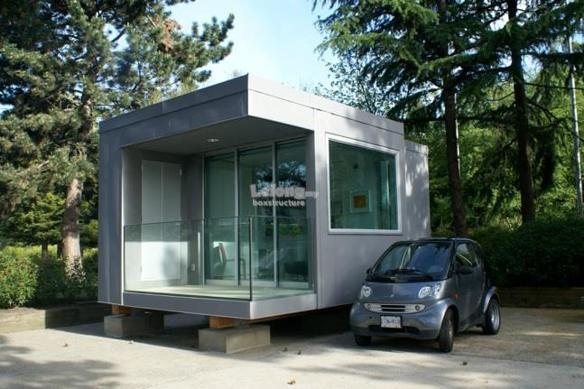 Modular Prefab Box Structure Construction Service (contractor)