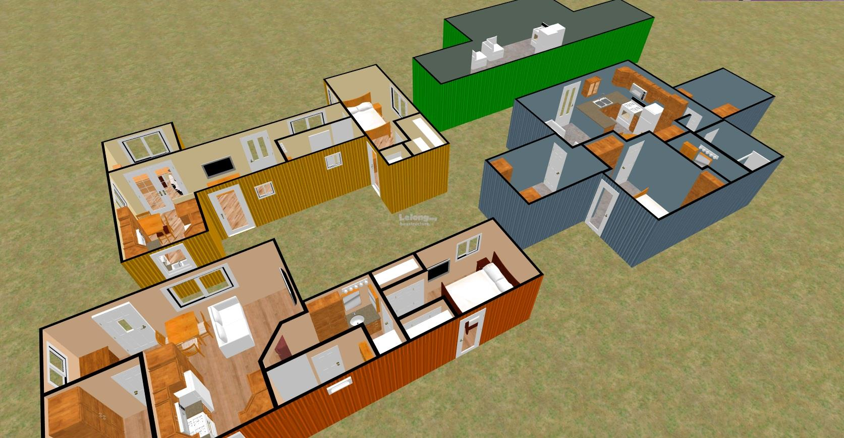 Modular Prefab House Project Management(design & build)