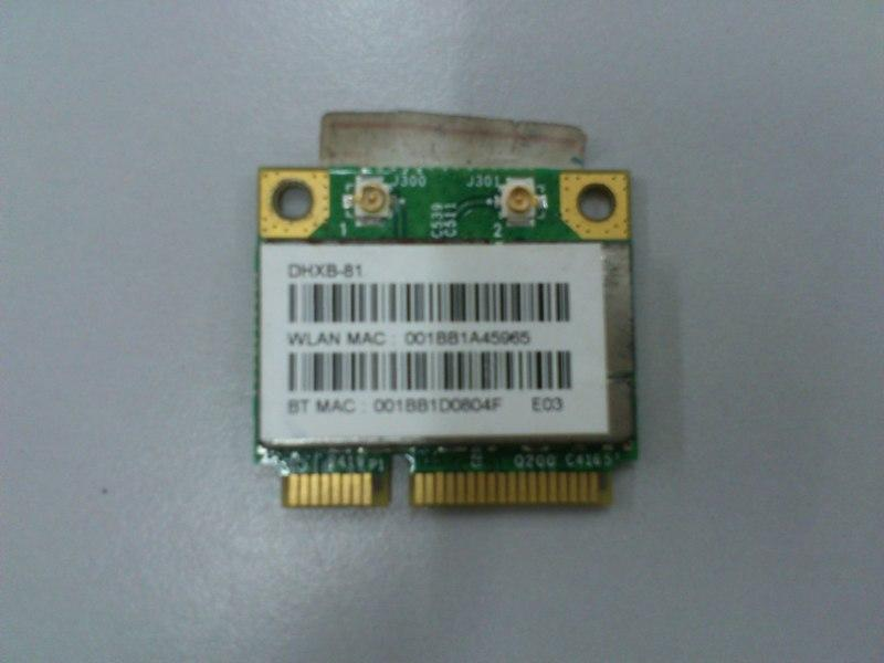 MODULE-WLAN_BT DHXB-81 Half Mini PCI-E Wireless Bluetooh Card 230713