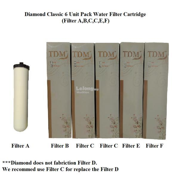 MODXION Diamond Water Filter Cartrid (end 9/24/2018 8:15 PM)