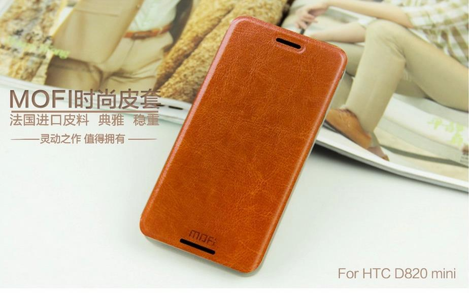Mofi HTC Desire 820 Mini 620 620G Flip Case Cover + Gift