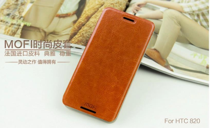 Mofi HTC Desire 820 PU Leather Flip Case Cover + Free Gifts