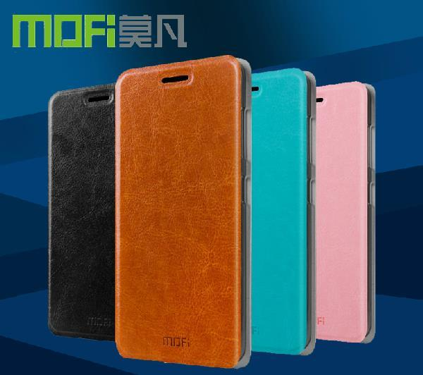 Mofi Huawei Ascend G620S PU Leather Flip Case Cover + Free Gift