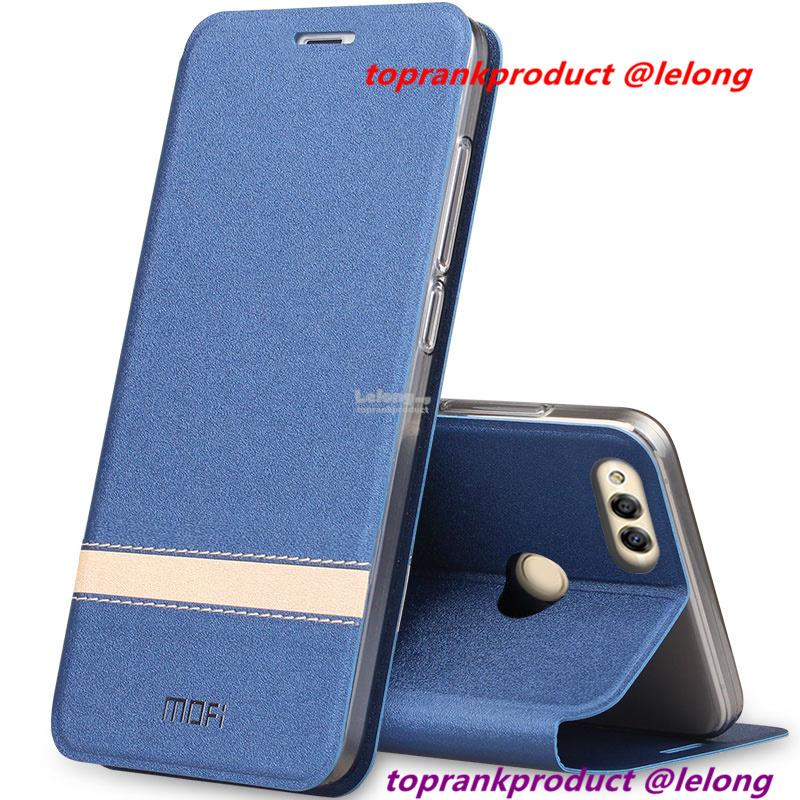Mofi Huawei Honor 6X 7X Flip PU Leather Stand Case Cover Casing