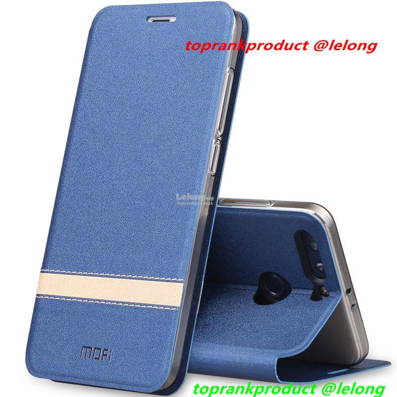half off 53f55 449a7 Mofi Huawei Honor 9 Lite Flip PU Leather Stand Case Cover Casing