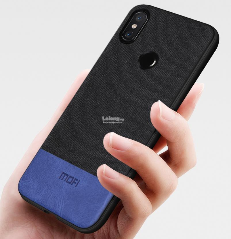 online store 80d24 3d7a9 Mofi Huawei Honor Note 10 Fabric Magnetic Back Armor Case Cover Casing