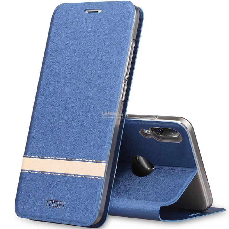 100% authentic 05703 6c7f1 Mofi Huawei Nova 3 Nova3 3e 3i Flip PU Leather Stand Case Cover Casing