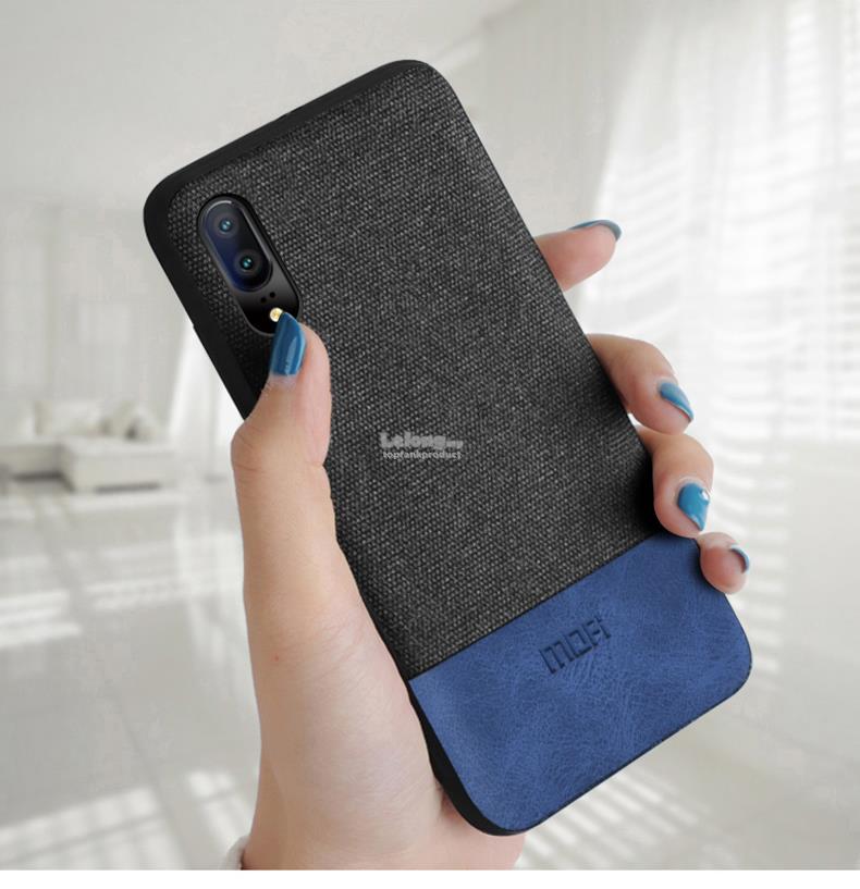 innovative design ac4c5 b21ea Mofi Huawei P20 Mate 9 10 / Pro Fabric Back Case Cover Casing