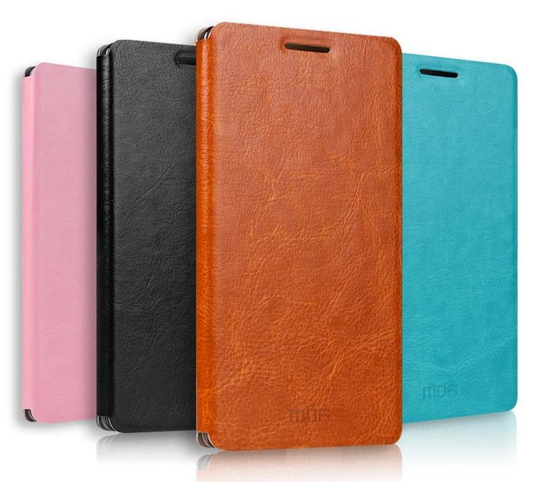 Mofi Lenovo K3 A6000 Flip PU Leather Case Cover Casing +Free Gift