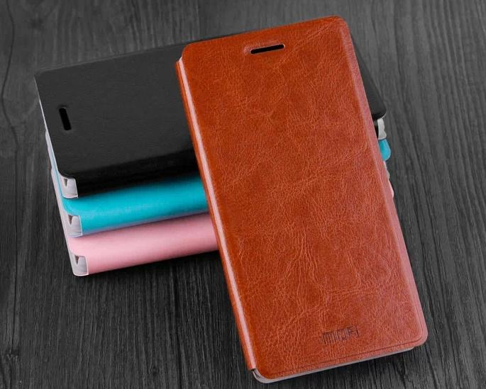 Mofi Lenovo S860 S850 S660 PU Leather Flip Case +Free Screen Protector