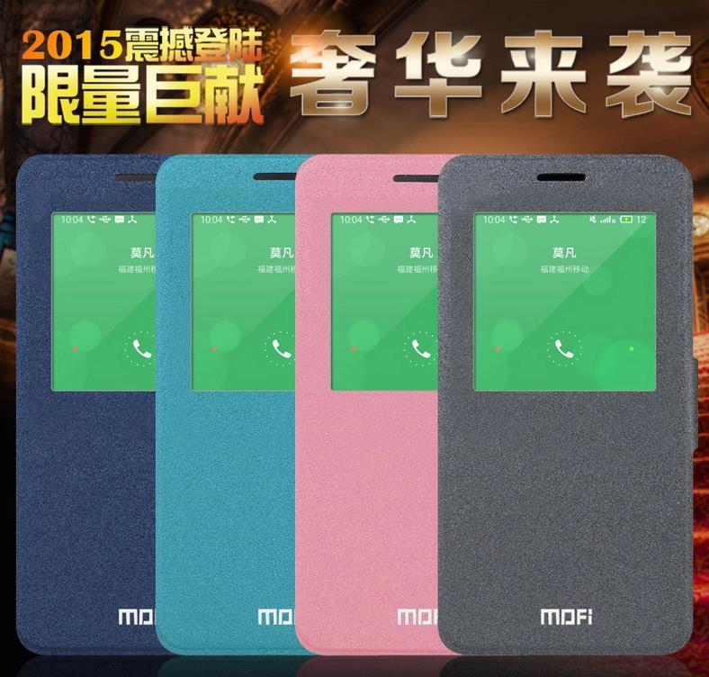 Mofi Meizu M1 Note Flip Case Cover + Free Screen Protector