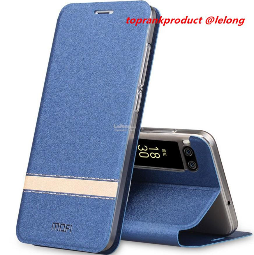 Mofi Meizu Pro 7 Pro7 / Plus Flip PU Leather Stand Case Cover Casing