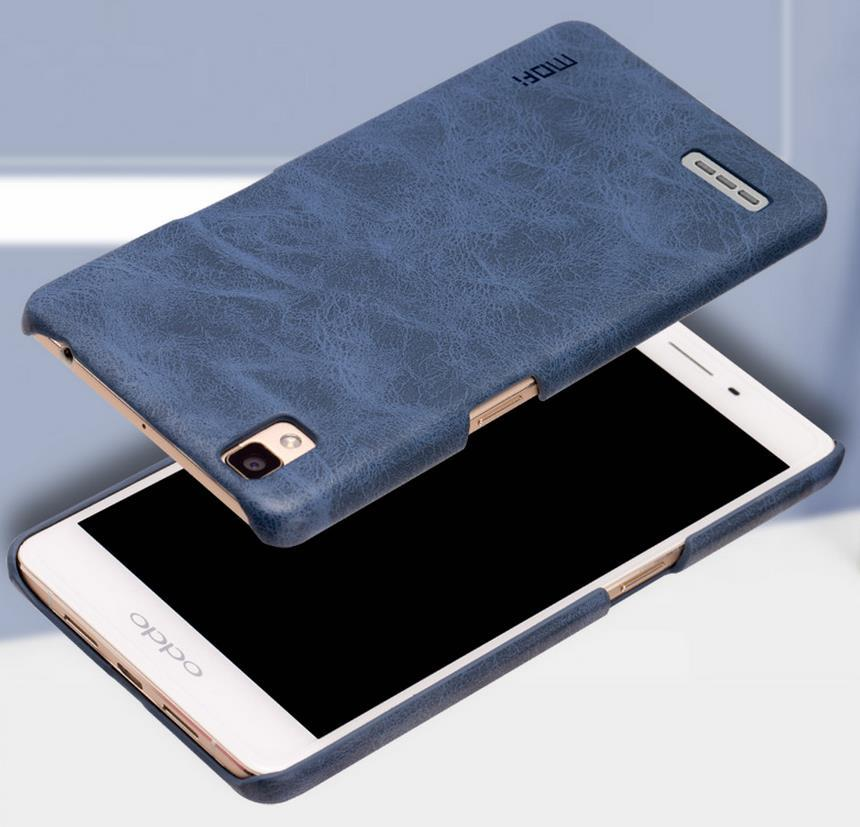 promo code 0c415 a0e1e Mofi OPPO F1 A35 Plus R9 Leather Back Case Cover Casing + Gift