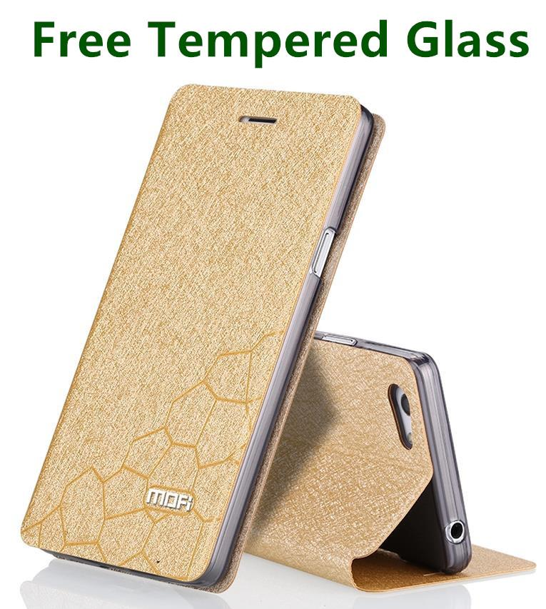 Mofi Oppo Neo 7 Neo7 A33 Flip Case Cover Casing +Free Tempered Glass