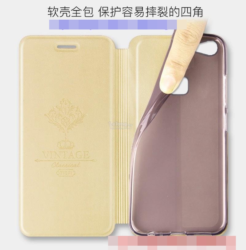 Mofi ViVO V7 Plus V7Plus Flip PU Leather Stand Case Cover Casing