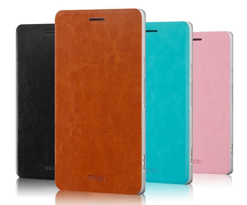 Mofi ZTE Nubia X6 6.4 PU Leather Flip Case Cover Casing + Free Gift
