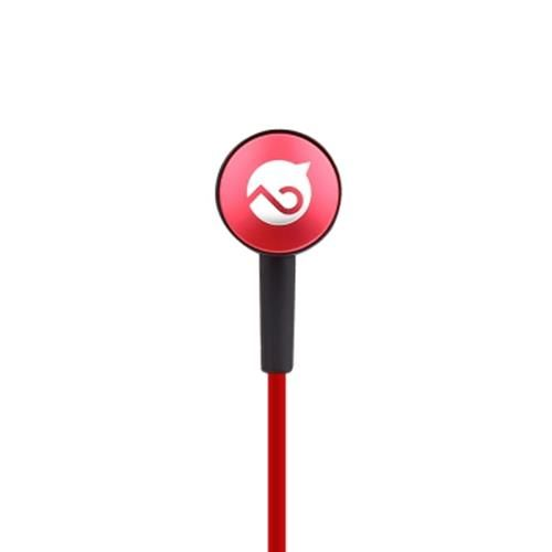 MOGCO M3 HIFI WIRED STEREO EARPHONES HEADPHONES (RED)